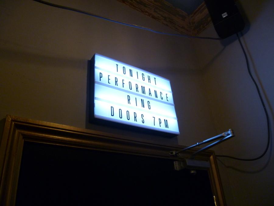 Bill Murray Performance Room Entrance