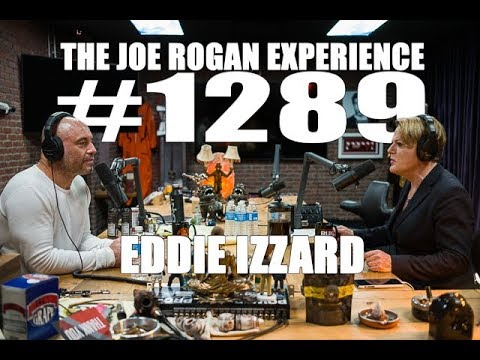 Eddie Izzard discusses building new material at The Bill Murray on The Joe Rogan Experience